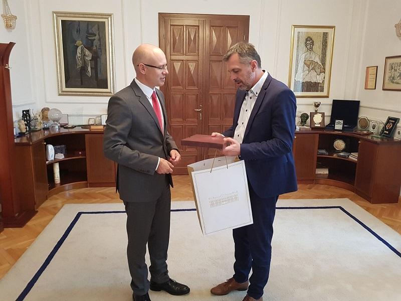 Градоначелник Новог Сада у посети Републици Српској