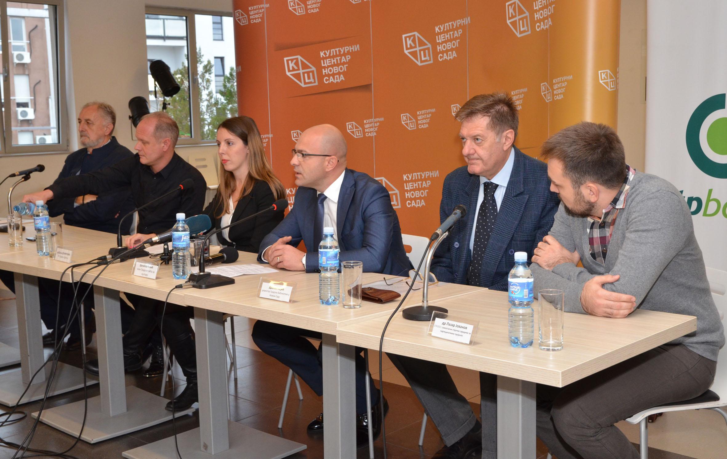Град Нови Сад на Сајму књига у Београду