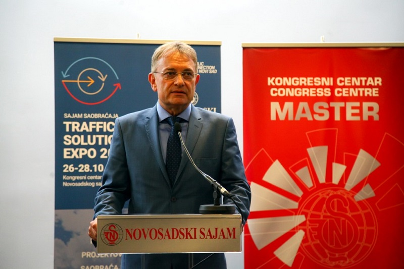 Ненад Грбић поздравио учеснике првог Међународног сајма саобраћаја-Traffic Solution Expo