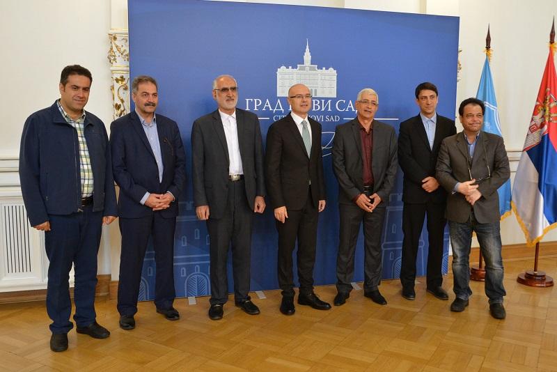 Делегација Иранског града Машхада посетила Нови Сад