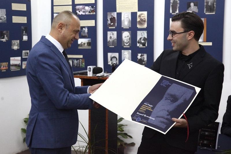 Потпредседник Милићевић уручио Михизову награду Димитрију Коканову