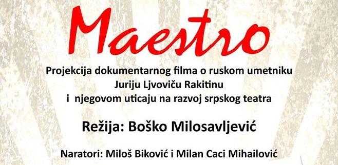 "Bečej: Projekcija filma ""Maestro"""