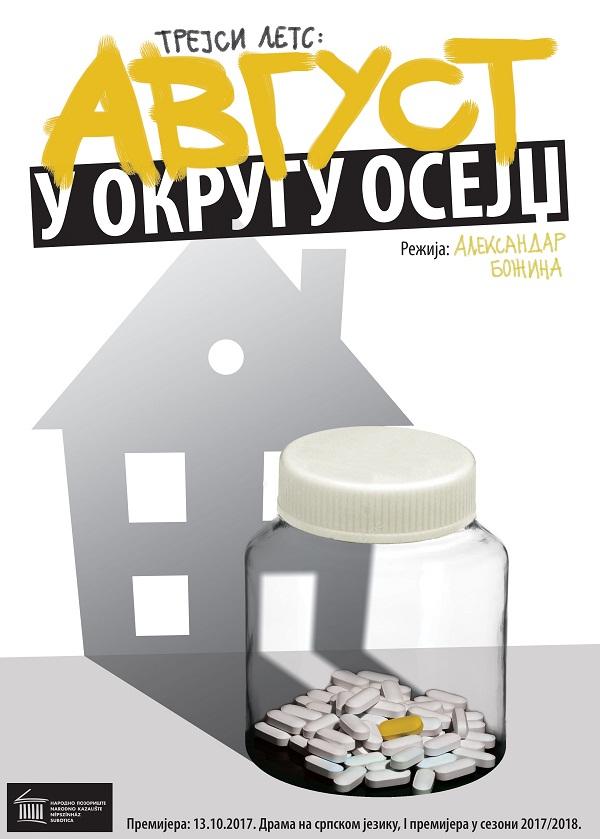 """PREMIJERA predstave """"Avgust u okrugu Osejdž"""" – Narodno pozorište Subotica"""