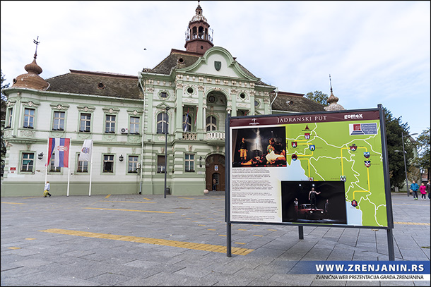 Izložba povodom Svetskog dana istorijskih teatara na zrenjaninskom trgu
