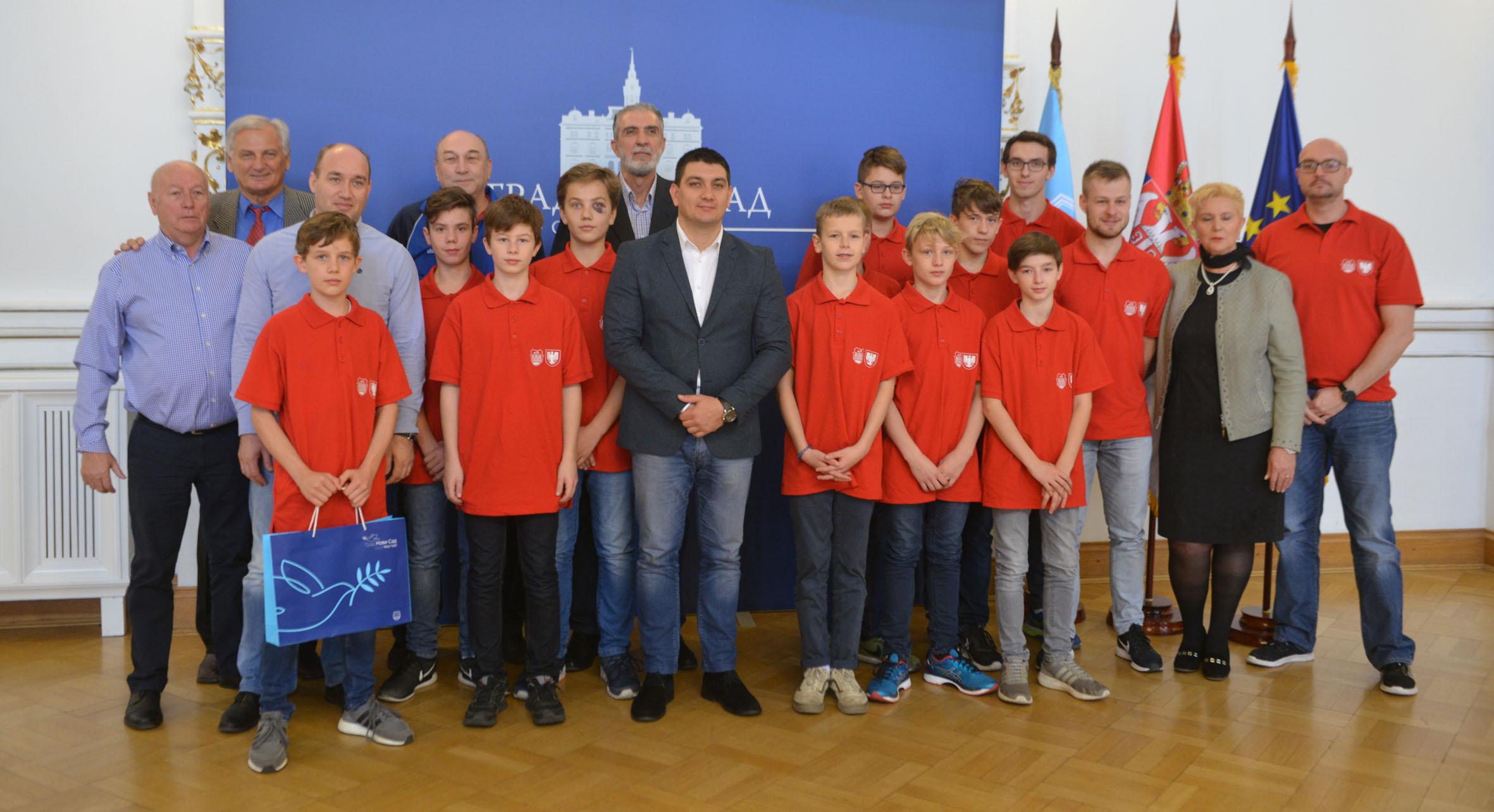 Mladi rukometaši iz Dortmunda u poseti Novom Sadu