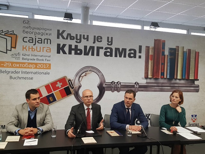 Нови Сад као Град гост на међународном београдском сајму књига