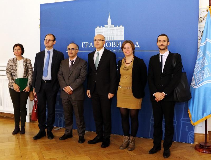 Отправник послова амбасада Француске посетио Нови Сад