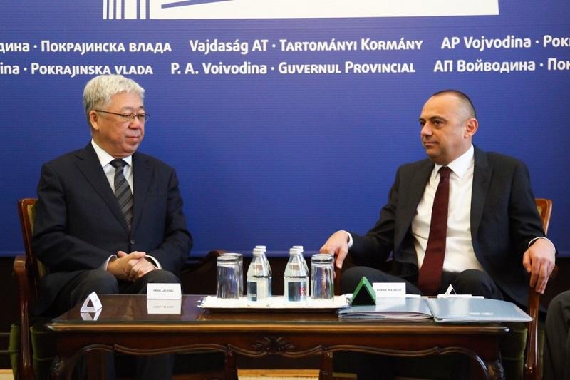 Потпредседник Ђорђе Милићевић примио делегацију Града Пекинга