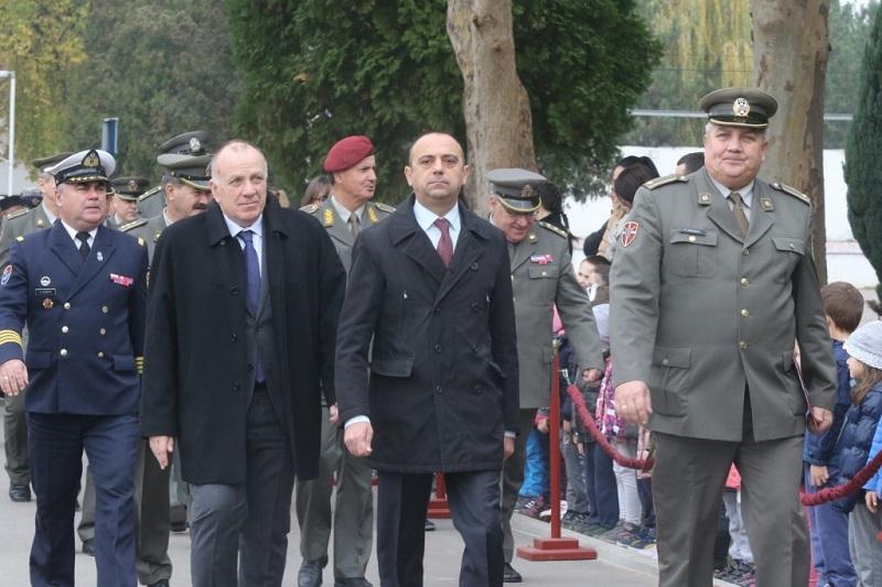 Потпредседник Милићевић присуствовао свечаности поводом Дана 1. бригаде копнене војске