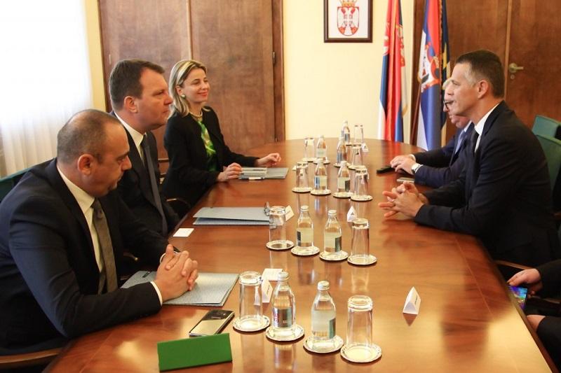 Председник Мировић примио делегацију Истарске жупаније