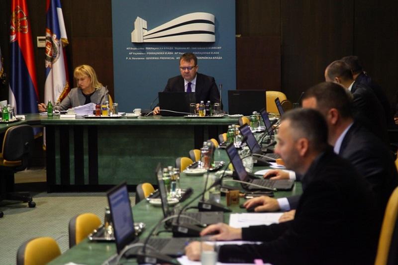 Саопштење са седнице Покрајинске владе