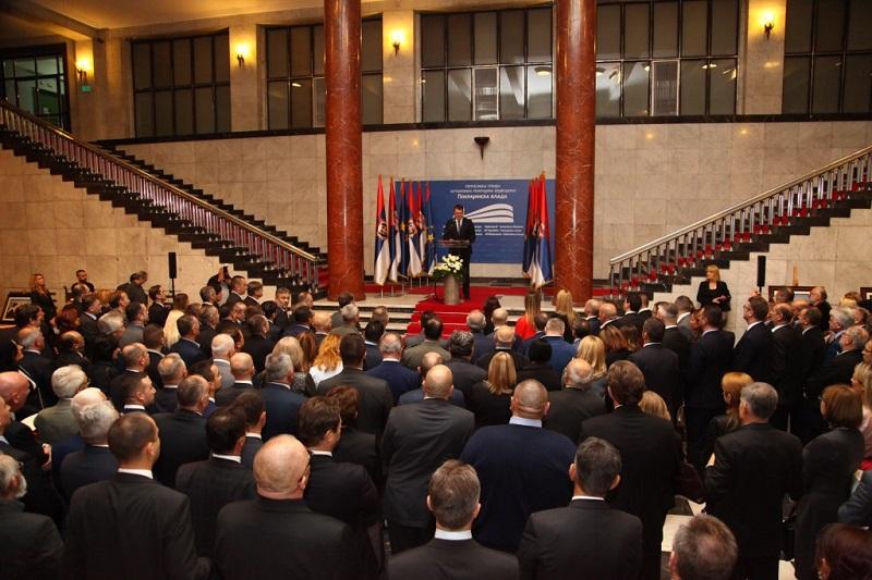 Свечаним пријемом у Покрајинској влади прослављен Дан присаједињења Војводине Србији