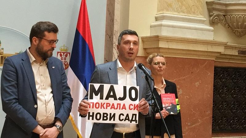 Изјава Бошка Обрадовића поводом дешавања у кабинету Маје Гојковић