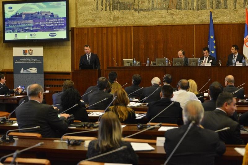 Седница Заједничког консултативног одбора Комитета региона Европска унија-Република Србија