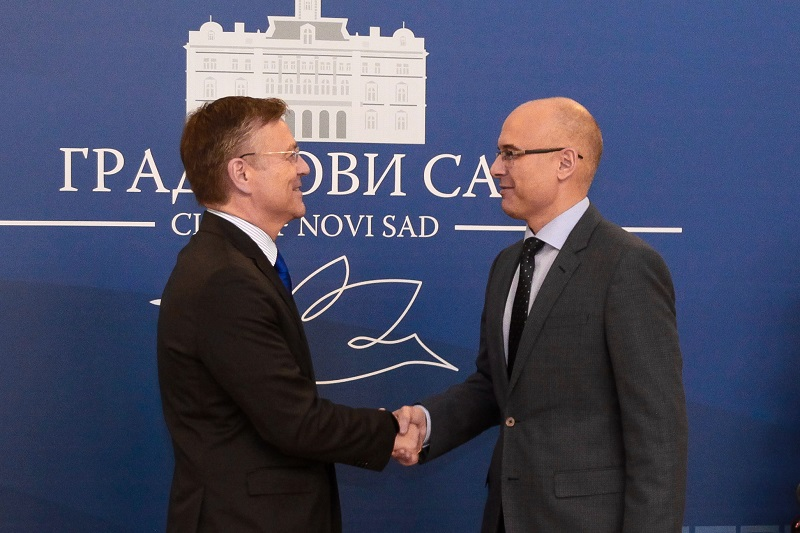 Амбасадор Финске посетио Нови Сад
