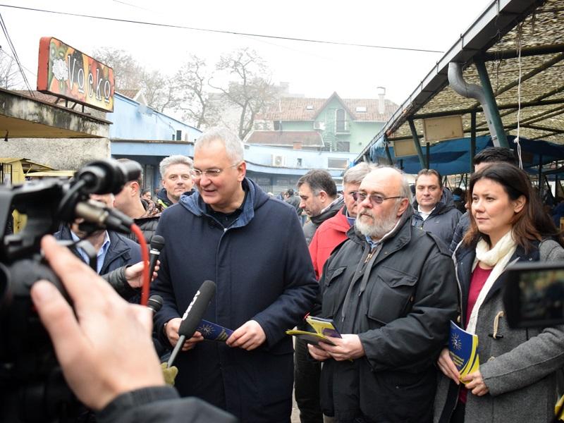Шутановац у Костолцу: Промене крећу са локала, ДС ће заштитити грађане
