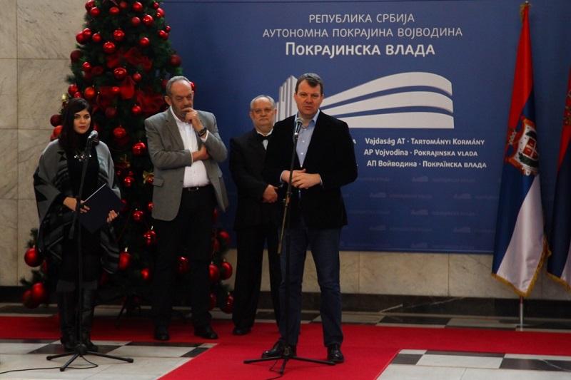 Одржан новогодишњи пријем за новинаре у Покрајинској влади