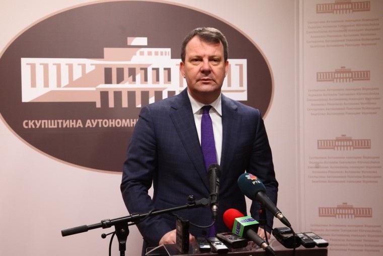 Изјава председника Мировића поводом предлога буџета АП Војводине за 2018.