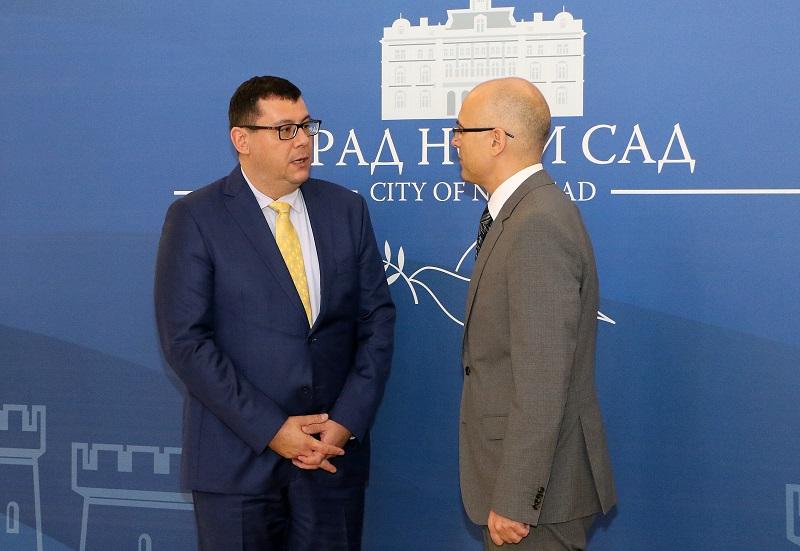 Градоначелник одржао састанак са амбасадором Мађарске
