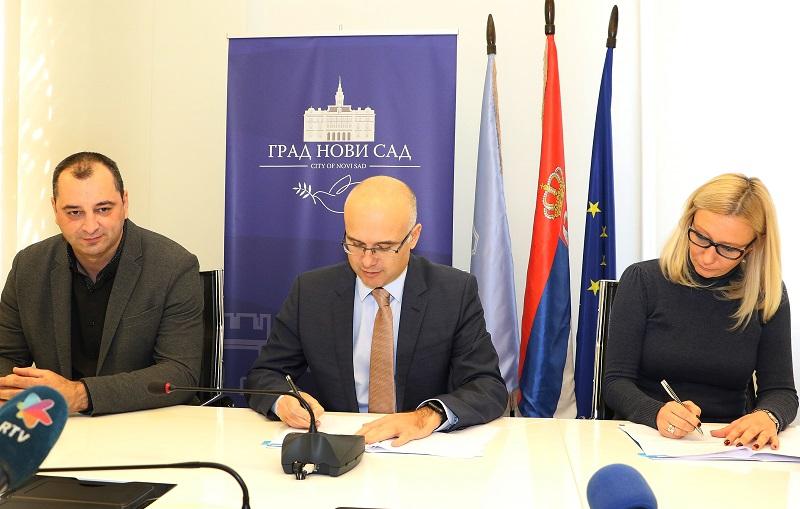 Потписан протокол о сарадњи између Града Новог Сада и Привредне коморе Србије