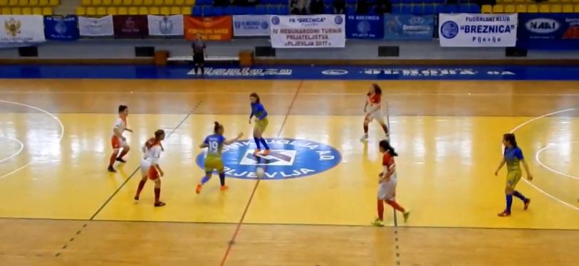 Početak takmičenja u futsalu za devojčice