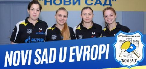 ETTU kup: STK Novi Sad dočekuje Girbau Vik