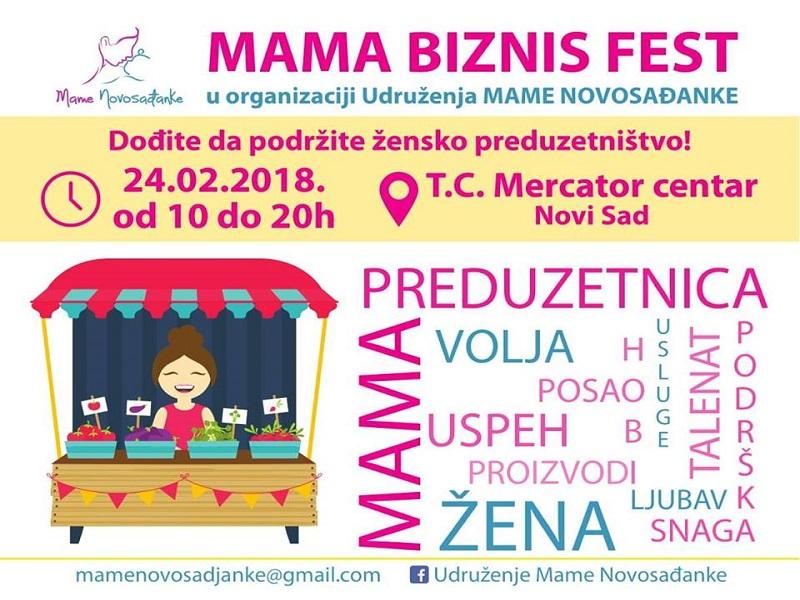 "Treći ""Mama biznis fest"" u subotu"