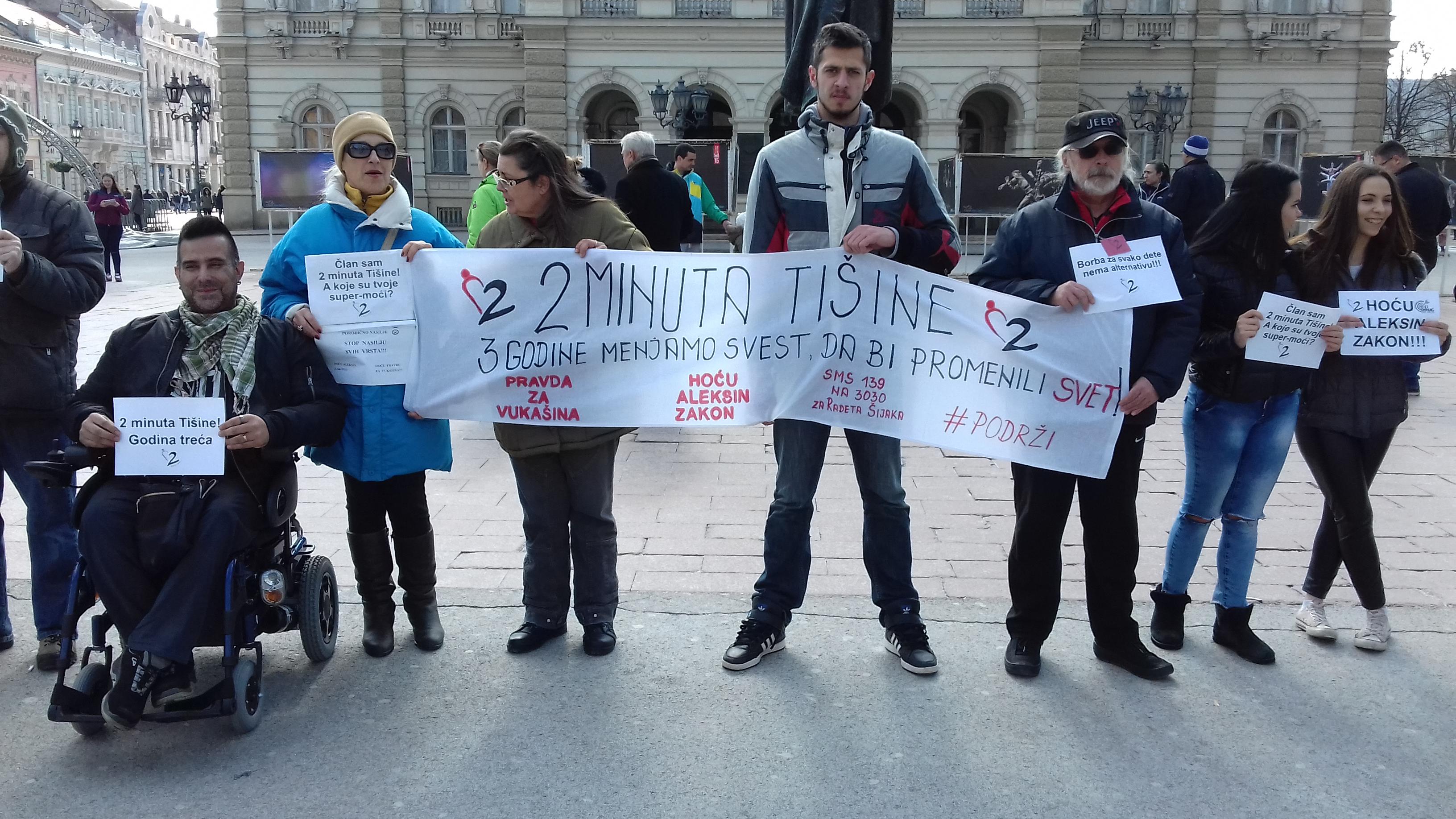 Trg Slobode u nedelju 25. marta