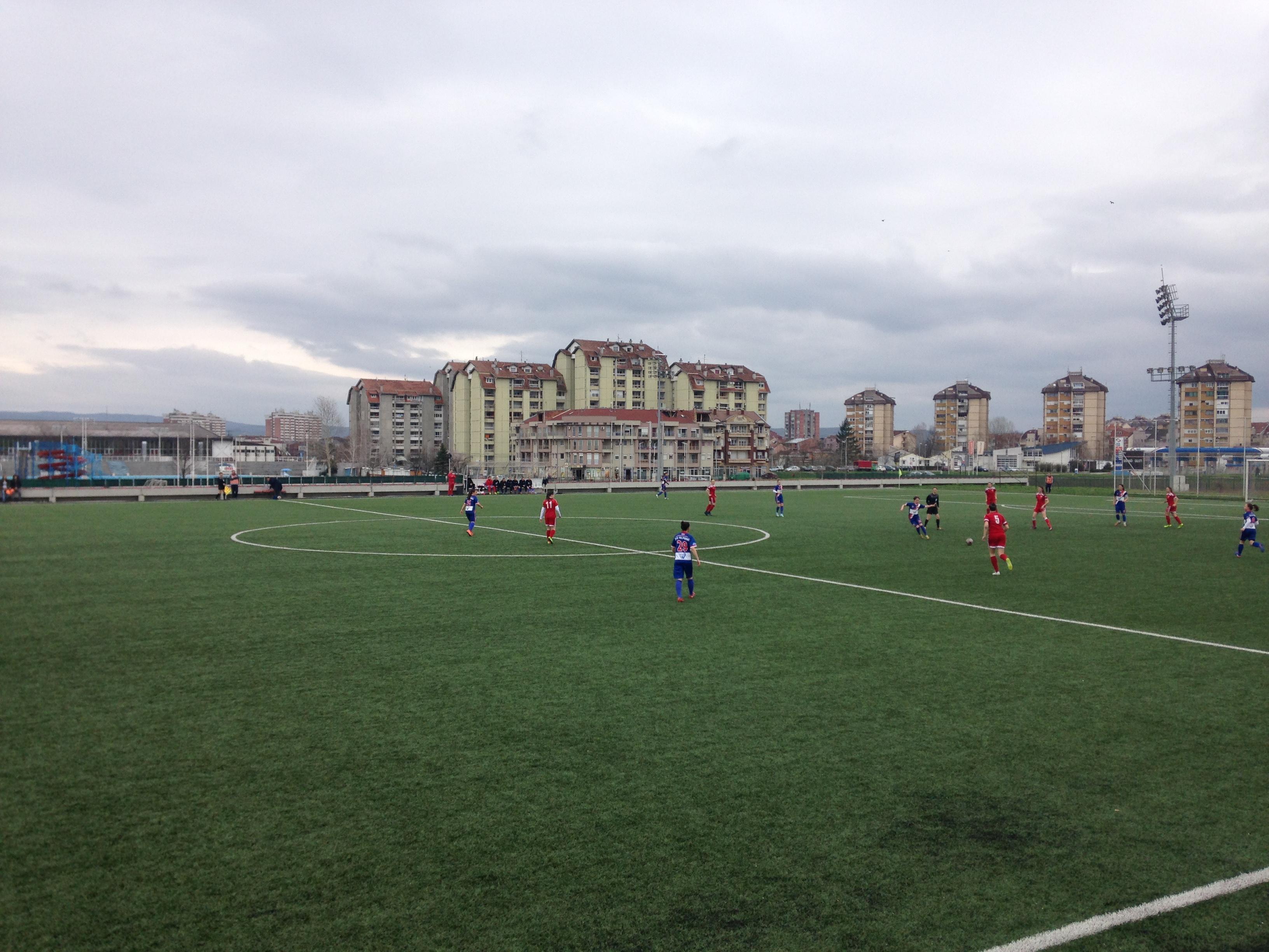 Fudbalerke Vojvodine savladale ekipu Napretka u Kruševcu