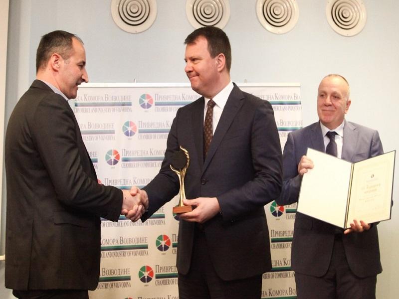 Додељене годишње награде Привредне коморе Војводине