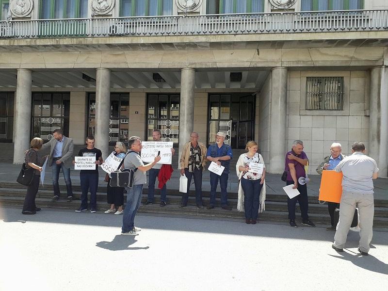 Protest za prava očeva: Porodica je u Srbiji obesmišljena