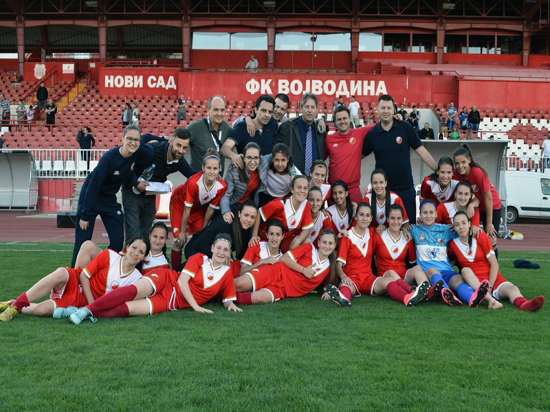 Istorijski uspeh na Karađorđu: ŽFK Vojvodina u finalu Kupa