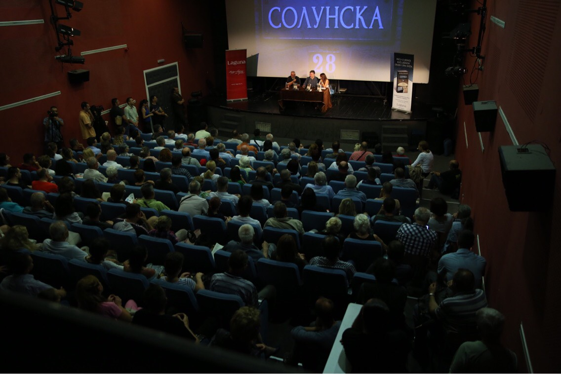 """Izuzetno interesovanje Novosađana za roman """"Solunska 28"""" Neleta Karajlića"""