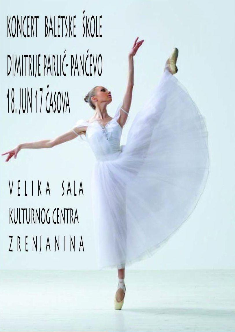 U ponedeljak, 18. juna u organizaciji Baletske škole