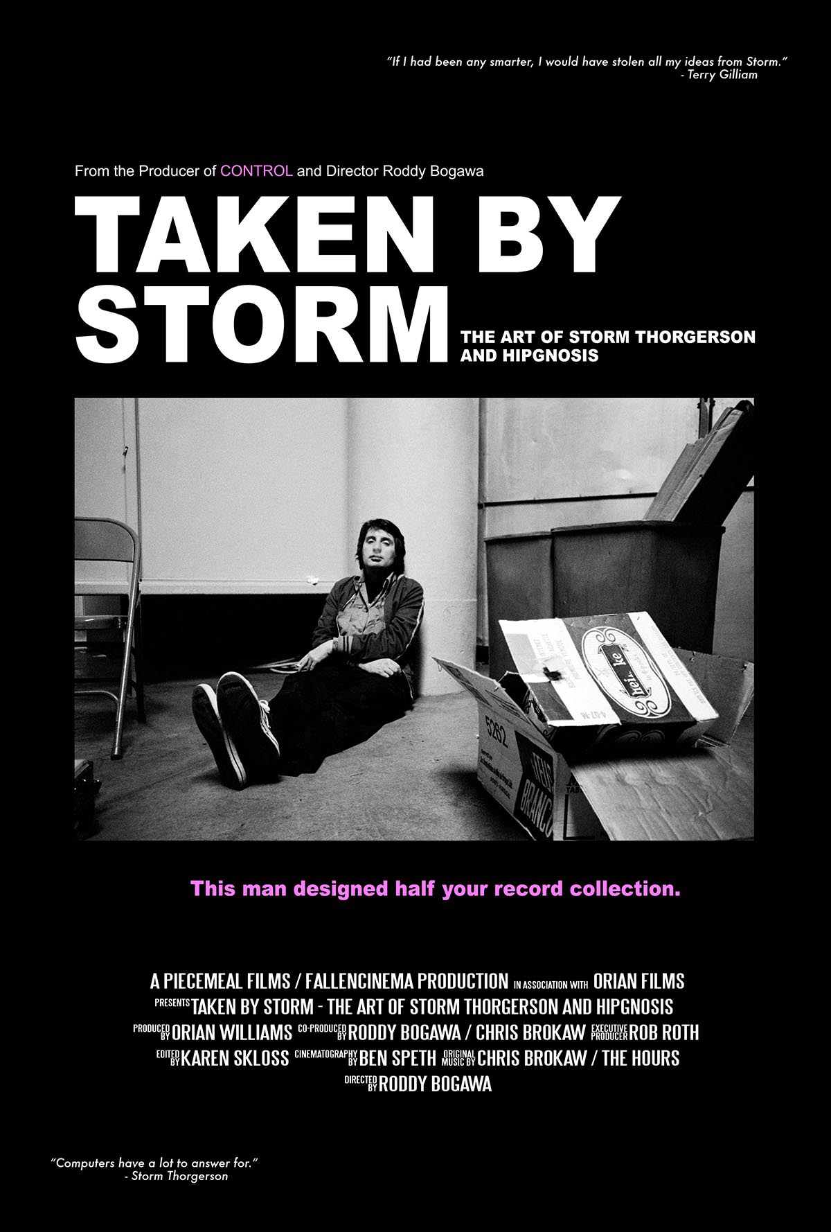 """Taken by Storm: The Art of Storm Thorgerson and the Hipgnosis"" 31. avgusta u KCNS"