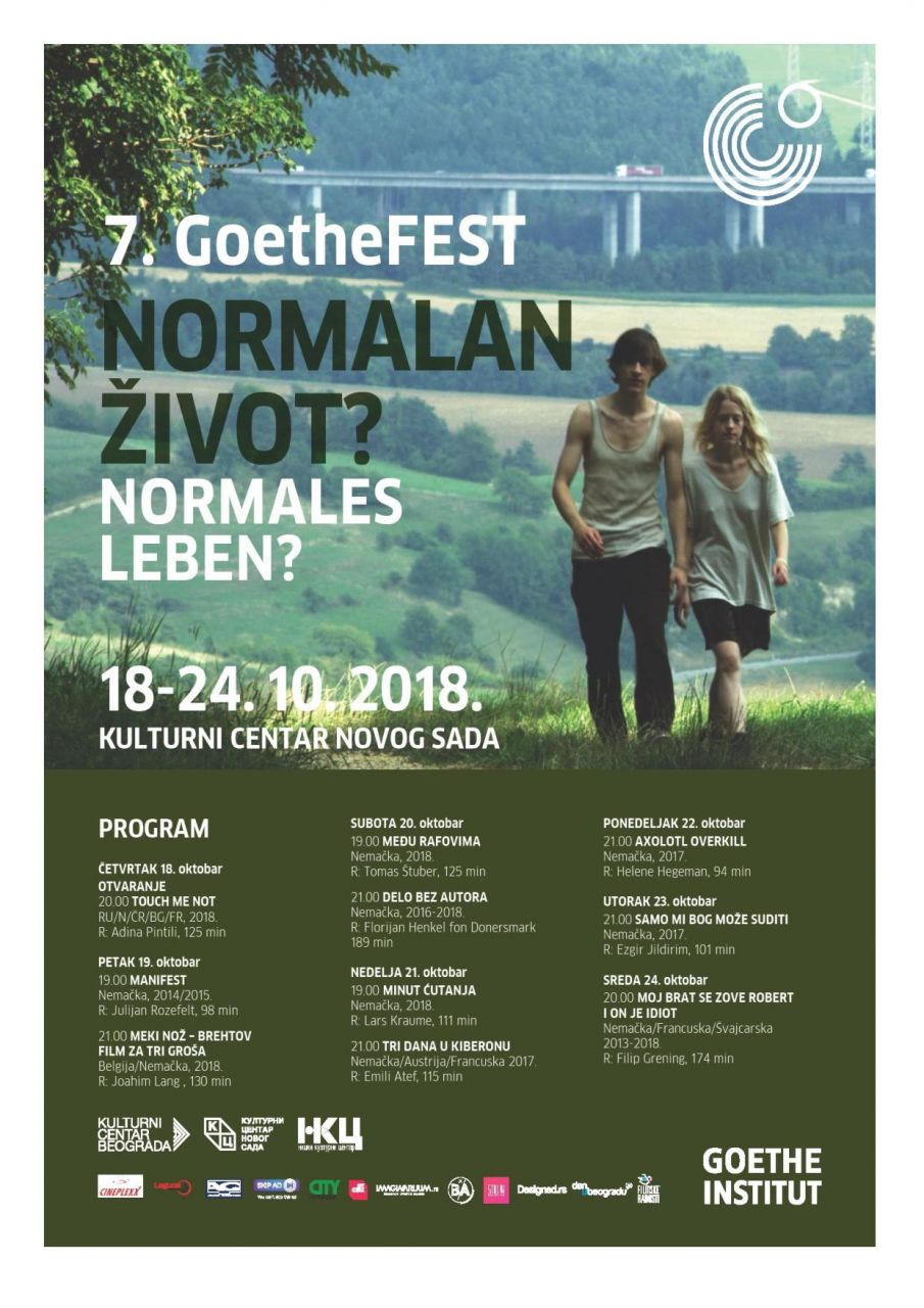 GoetheFEST 2018 od 18. oktobra u KCNS-u