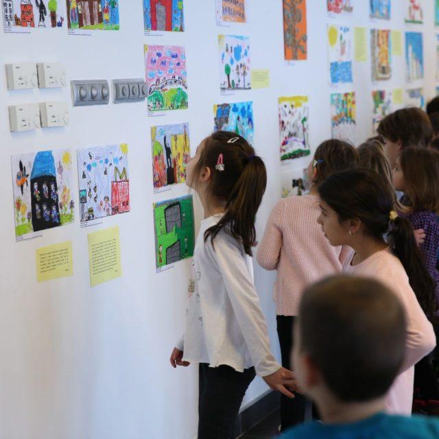 Otvorena velika završna izložba dečjih radova sa NOA festa 2018