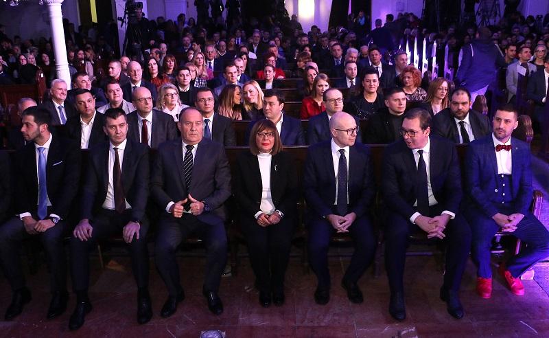 СВЕЧАНОМ ЦЕРЕМОНИЈОМ ОТВОРЕНА ОМЛАДИНСКА ПРЕСТОНИЦА ЕВРОПЕ 2019