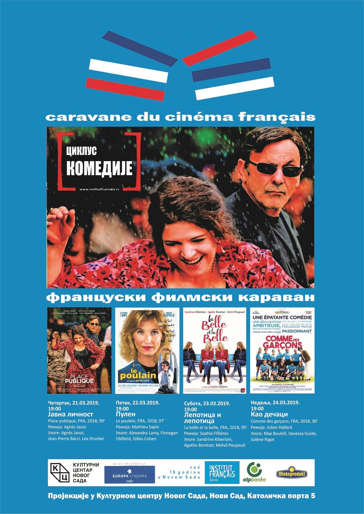FRANCUSKI FILMSKI KARAVAN 2019. OD 21. MARTA U KCNS
