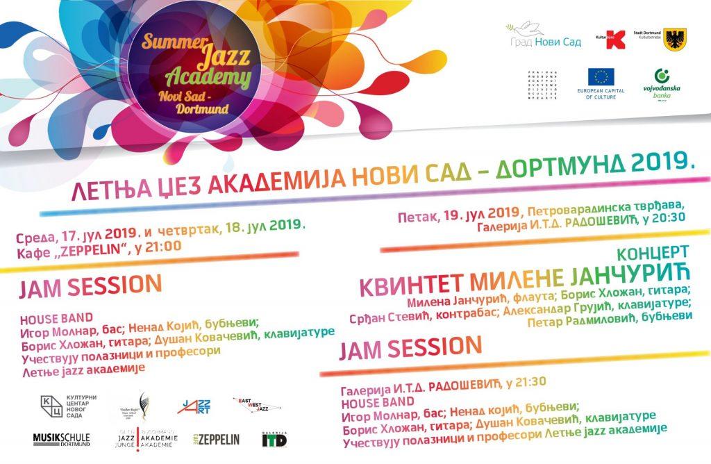 CONCERTS @ Summer Jazz Academy Novi Sad – Dortmund