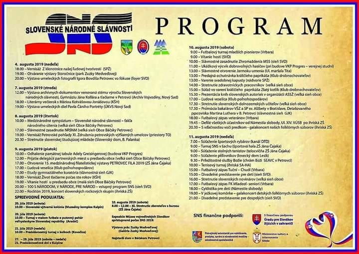 100 GODINA  OD PRVIH SLOVAČKIH NARODNIH SVEČANOSTI – 100 ROKOV SLOVENSKÝCH NÁRODNÝCH SLÁVNOSTÍ