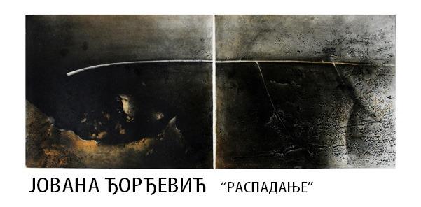 """Izložba radova """"Raspadanje"""" autorke Jovane Đorđević od 19. avgusta u Likovnom salonu"""