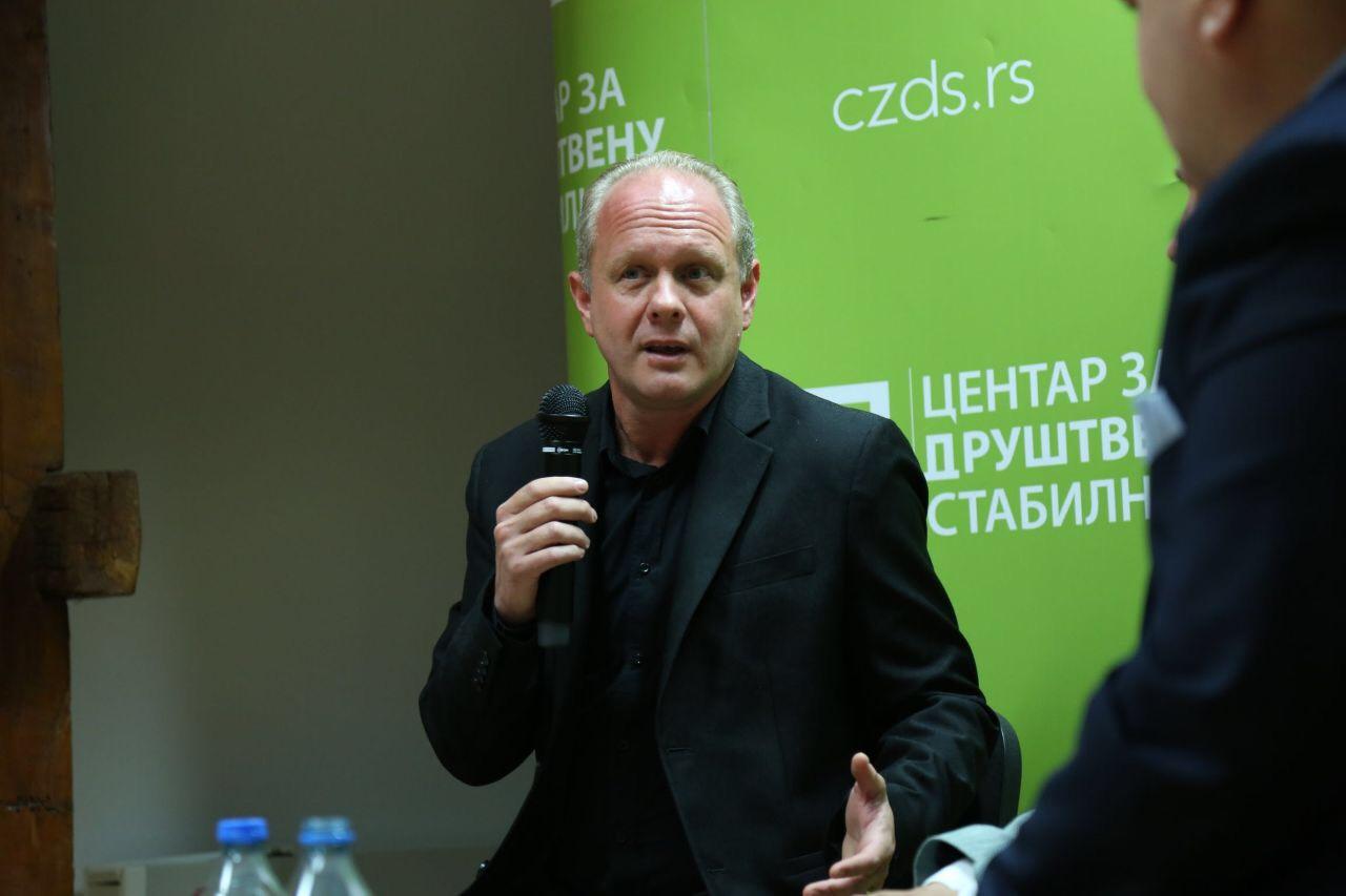 """Panaotović na tribini CZDS-a: """"Podele na starosedeoce i dođoše deo su palanačkog mentaliteta, treba nam jedinstvo!"""""""