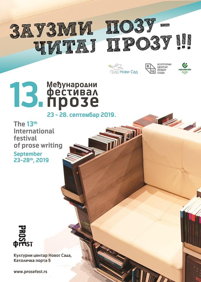 Program 13. Međunarodnog festivala proze – PROZEFEST
