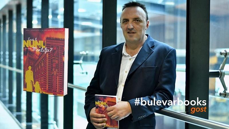 EDIN KREHIĆ U KNJIŽARI BULEVAR BOOKS