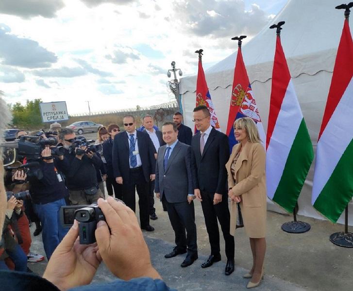 ОТВОРЕН НОВИ ГРАНИЧНИ ПРЕЛАЗ ИЗМЕЂУ СРБИЈЕ И МАЂАРСКЕ