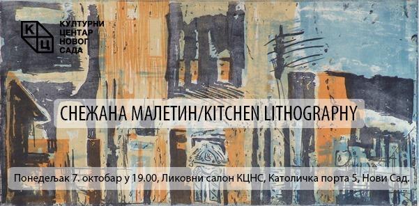 Izložba grafika autorke Snežane Maletin od 07. oktobra u Likovnom salonu