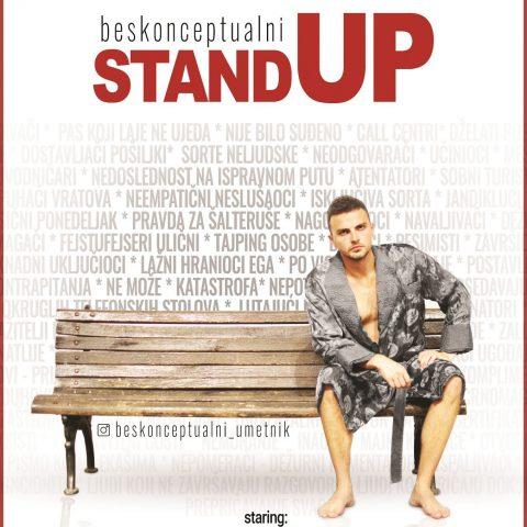 """Komedija """"Beskonceptualni Stand Up"""" 19. oktobra u Velikoj sali"""