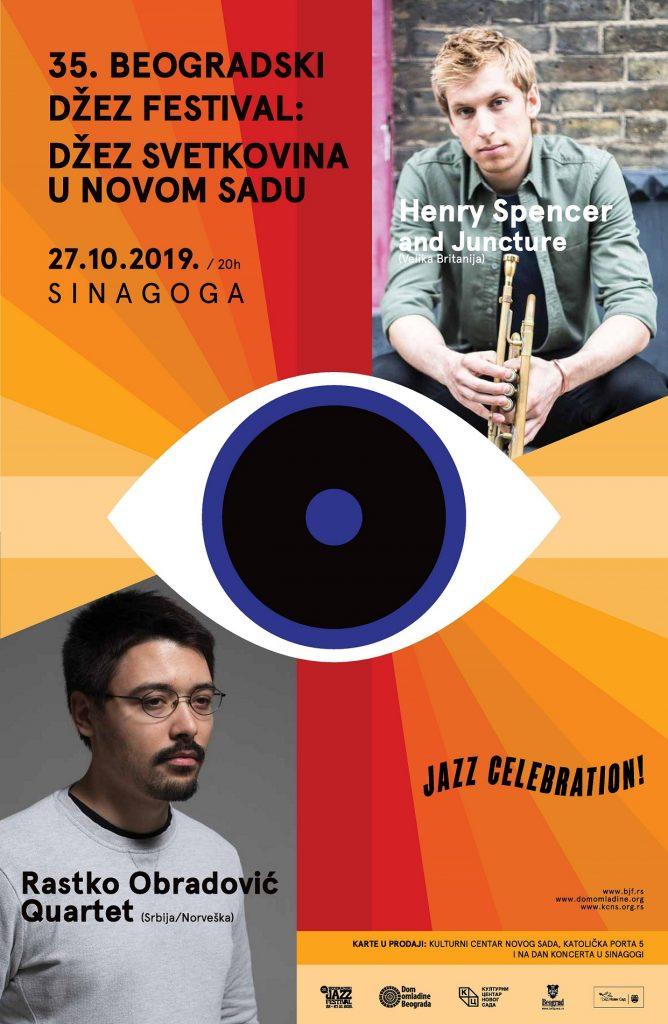 Džez svetkovina u Novom Sadu u okviru 35. Beogradskog džez festivala