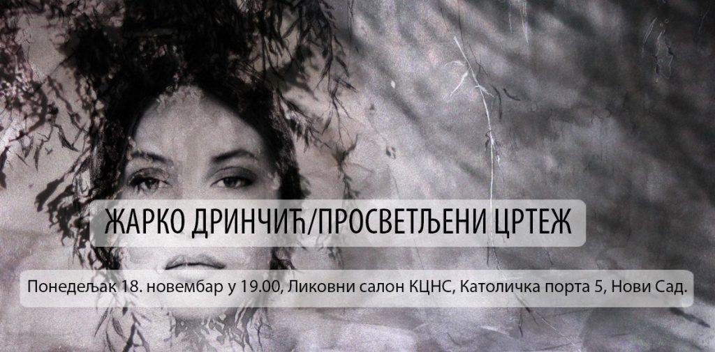 """Izložba slika """"Prosvetljeni crtež"""" autora Žarka Drinčića od 18. novembra u Likovnom salonu"""